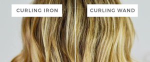 The Real Difference Between a Curling Wand and a Curling Iron