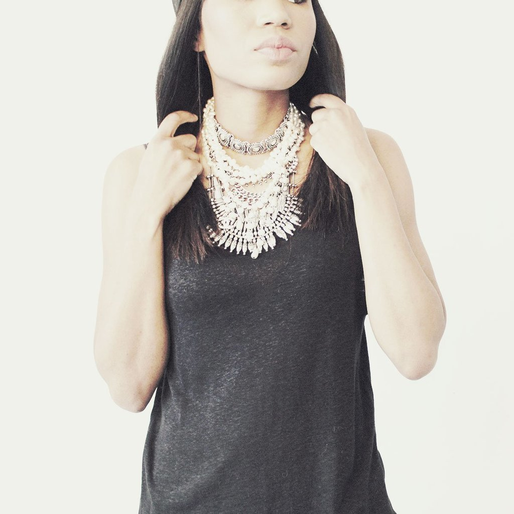 How to Layer Your Way to a Statement Necklace