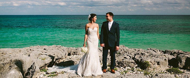 This Destination Beach Wedding Will Leave You Daydreaming of a Vacay