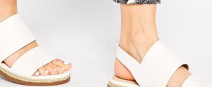 Our Top White Flat Sandals For Spring