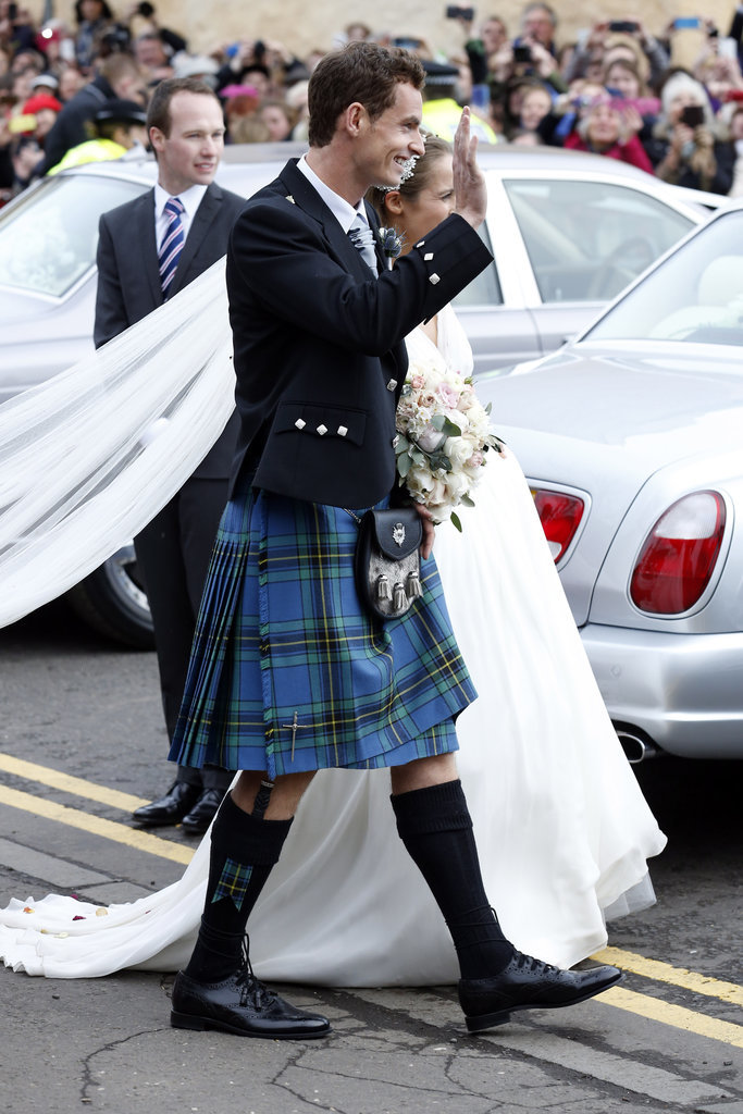 andy murray and kim sears wedding pictures popsugar