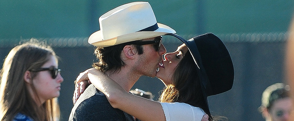 Ian Somerhalder and Nikki Reed Can't Stop Kissing