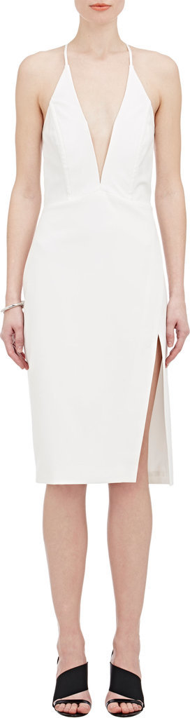 Mason by Michelle Mason Plunging-V Sheath Dress ($575)