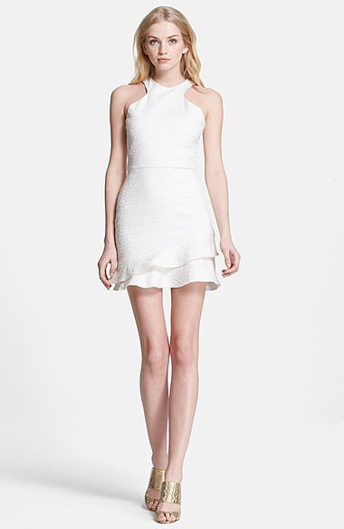 Parker Barcelona Fit & Flare Dress ($286)
