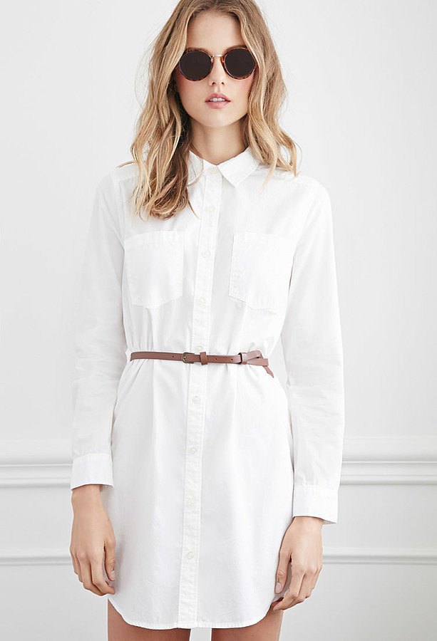 Forever 21 Belted Classic Shirt Dress ($23)