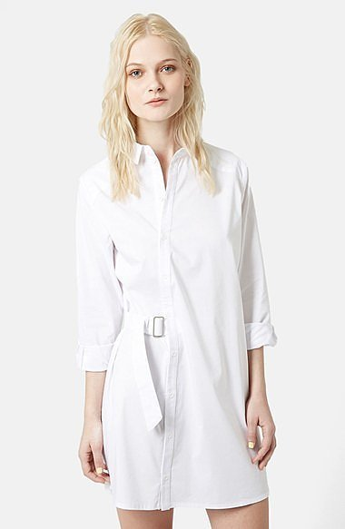 Topshop Boutique Belted Shirtdress ($135)