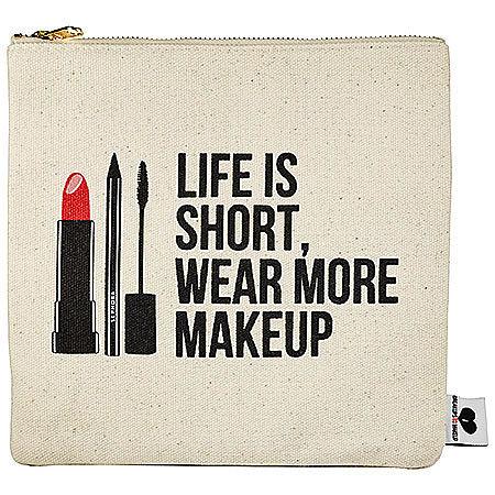 Life Is Short, Wear More Makeup Clutch