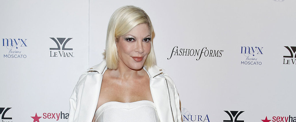 Tori Spelling Is Hospitalized With Burns After Falling on a Grill