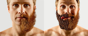 You Have to See How This Guy Is Styling His Epic Half Beard