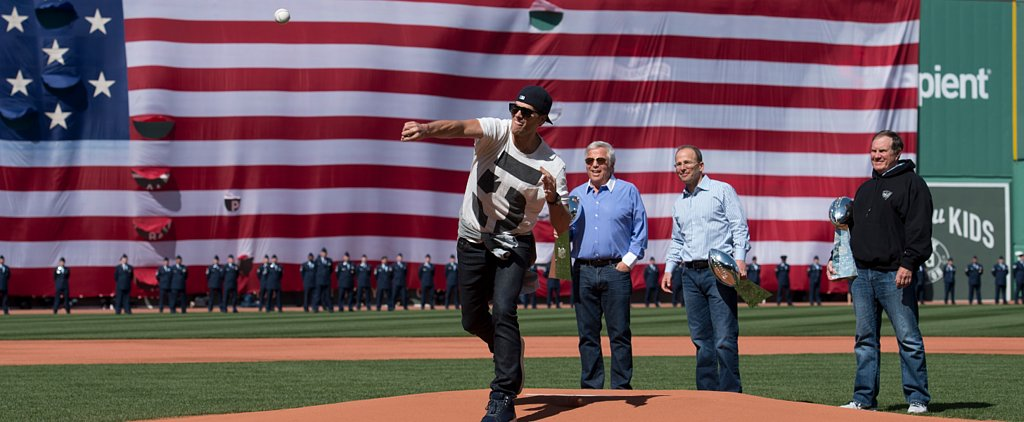 Tom Brady Should Maybe Stick to Football — Watch His Horrible First Pitch