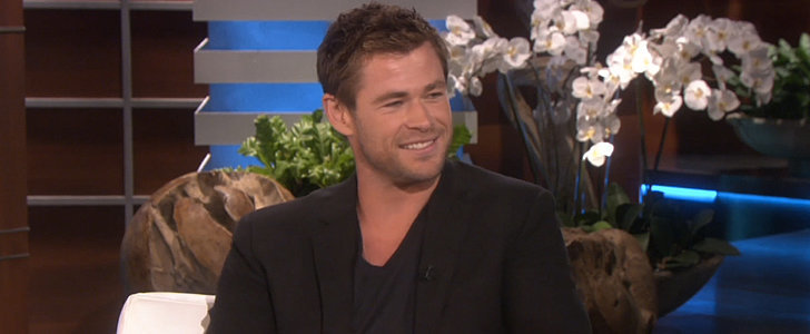 "Chris Hemsworth Dishes on the ""Trip From Hell"" With His Kids"