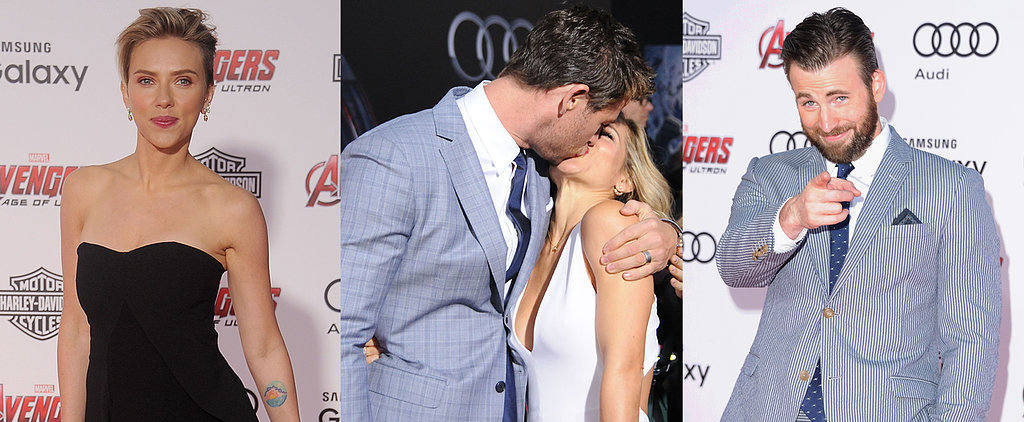 PDA, Play-Fighting and Plenty More Fun Moments From the Avengers Premiere