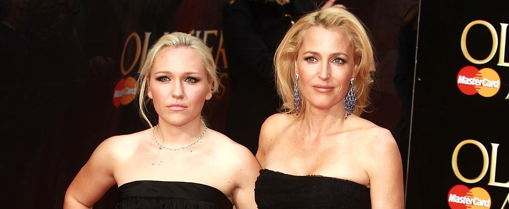 Gillian Anderson Has a Stunning Look-Alike in Her 20-Year-Old Daughter, Piper