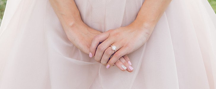 17 Nude Nail Options For the Classic Bride