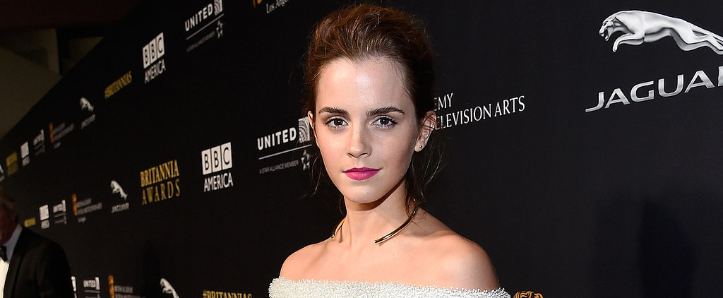 Behold: Emma Watson's Selfie With the Beauty and the Beast Cast!