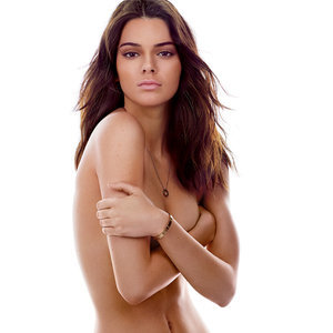 Kendall Jenner Topless in May 2015 GQ Magazine