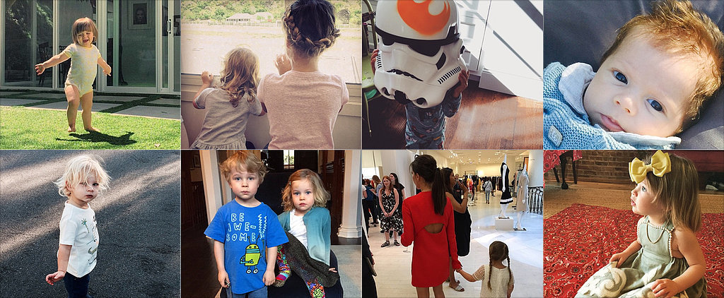 Jaime, Shakira, and Jessica Shared the Cutest Pictures of Their Kids This Week!