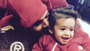 Chris Brown Shares First Pics of His Daughter Royalty