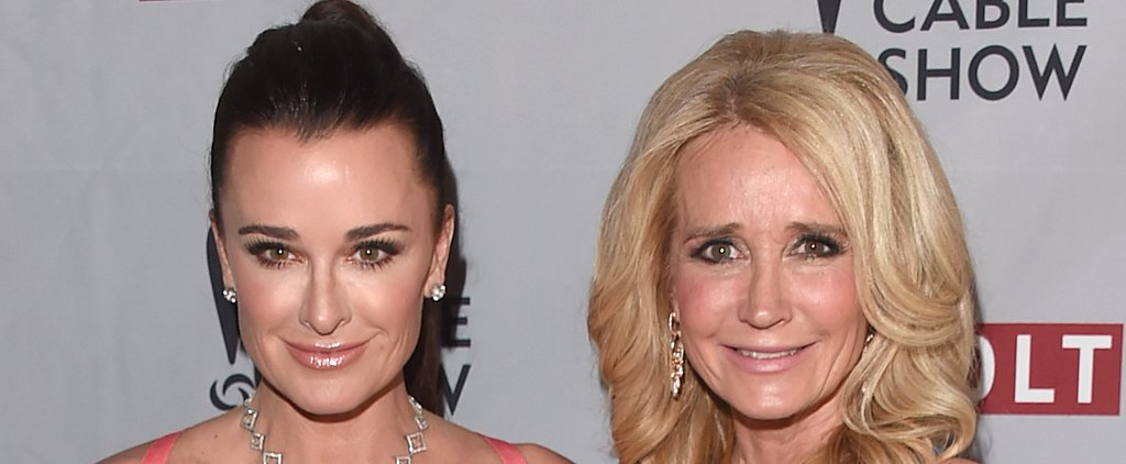 Kyle Richards Says Her Relationship With Sister Kim Is Still Strained