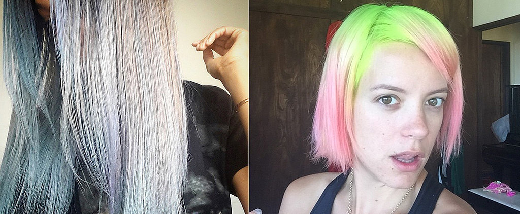 Rainbow Hair, Don't Care! 40 Ultrabright Celebrity Dye Jobs