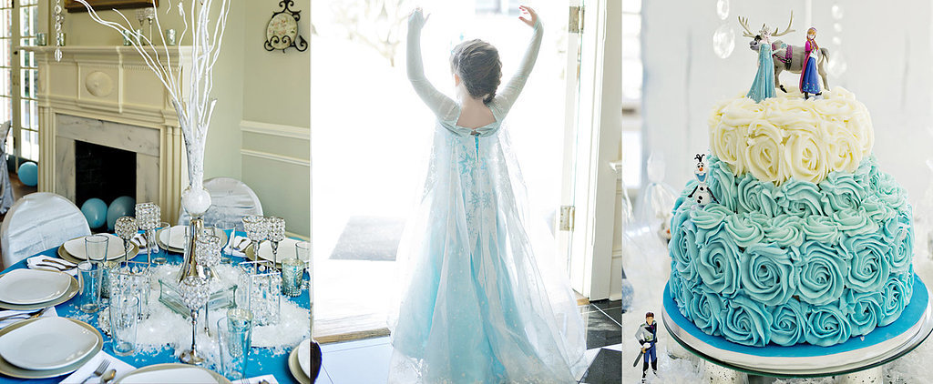 A Stunning Frozen-Themed Birthday Party Even Elsa Would Approve Of