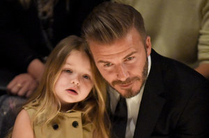 The Beckham Family Were The Definition Of #SquadGoals At The Burberry Show