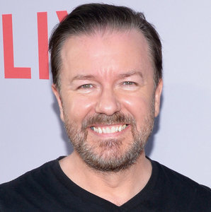 "Ricky Gervais Says Men and Women Who Hunt Animals Are ""Equally Vile"" After Rebecca Francis Claims He's Targeting Women"