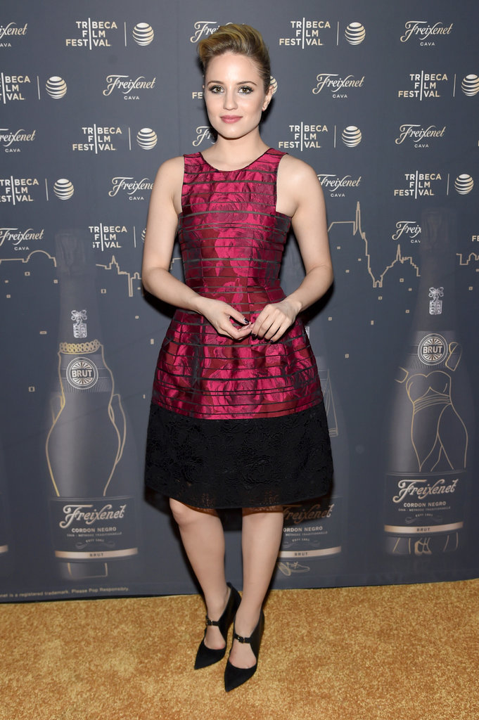 Dianna Agron attended a Saturday night afterparty at the Tribeca Film Festival in NYC.