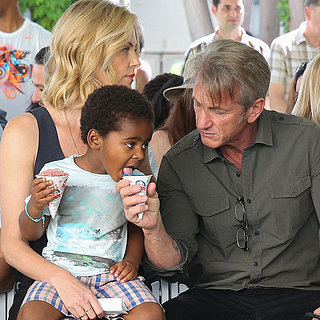 Charlize Theron and Sean Penn, at Block Party Event in LA