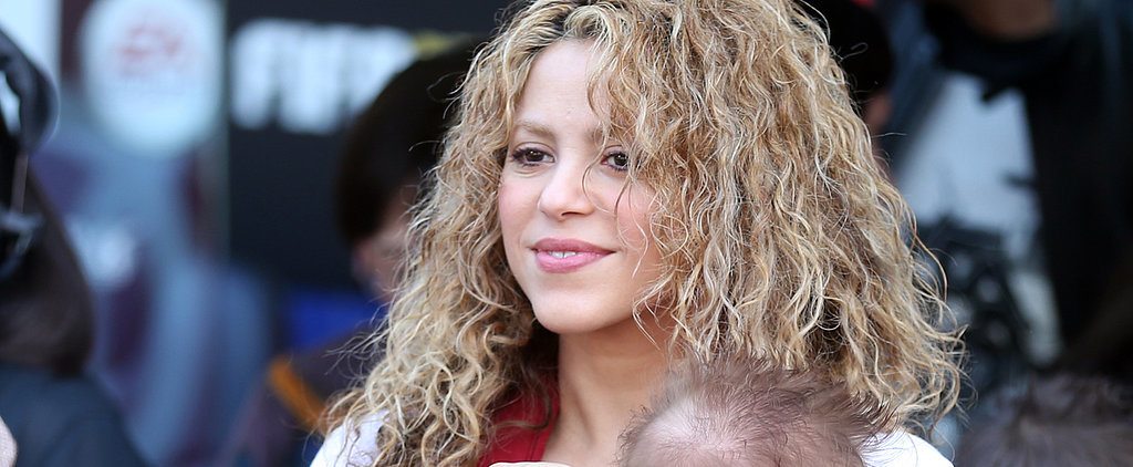 Shakira Brings the Kids to Cheer For Gerard Piqué — See the Cute Pics and PDA!