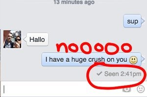 How To Pretend You Never Saw Someone's Facebook Message