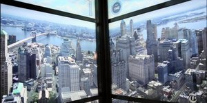 Elevator Journey To The Top Of 1 World Trade Center Features Spectacular Time-Lapse History Of New York