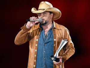 Jason Aldean on New Wife Brittany Kerr: 'She Keeps Me Focused and Grounded'