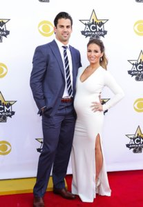 Jessie James & Eric Decker At ACM Awards