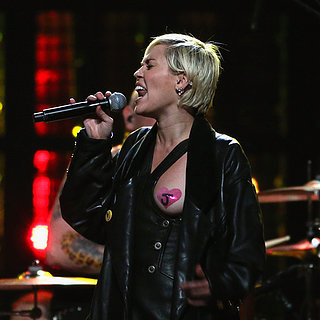 Miley Cyrus à la Rock and Roll Hall of Fame Induction Ceremo