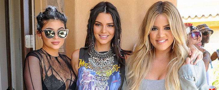 Kylie and Kendall Show Plenty of Skin at Khloé's Coachella Pool Party