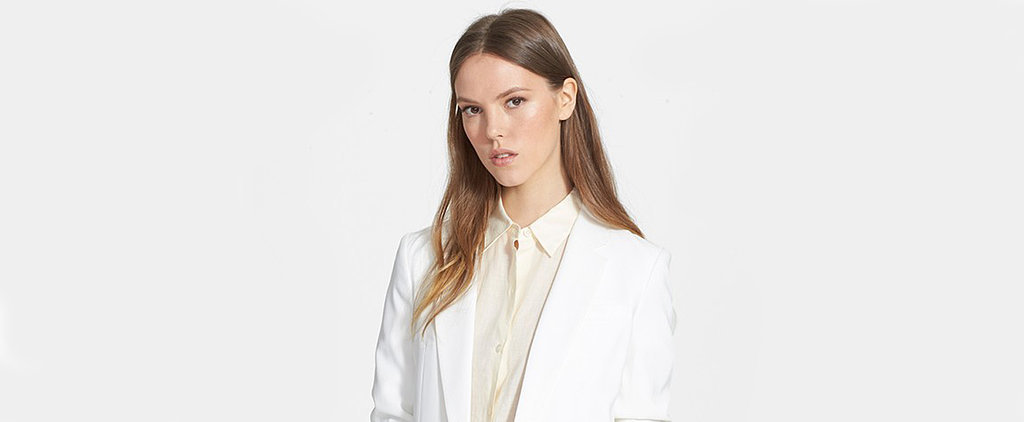 This Is How You Wear a White Blazer For Spring