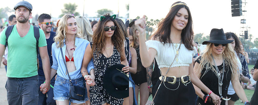 Coachella or Bust: Celebrities Go All Out For Festival Fun