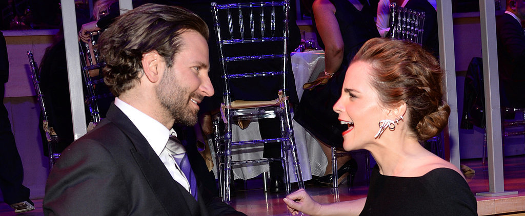 Even Emma Watson Freaks Out Over Meeting Bradley Cooper