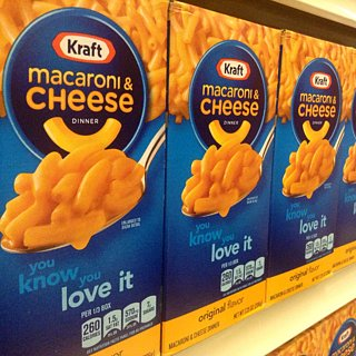 Kraft Macaroni and Cheese Orange Preservative Change
