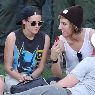 Kristen Stewart and Alicia Cargile at Coachella Pictures