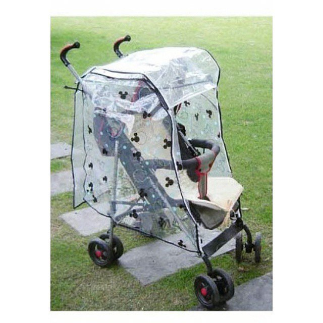 Don't Forget a Rain Cover For the Stroller