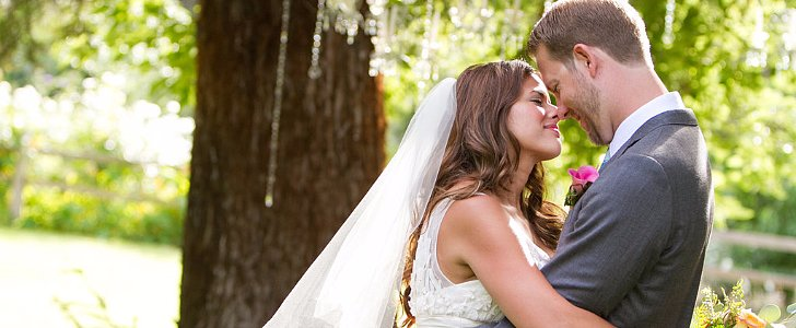This Summer Wedding Is a Real-Life Fairy Tale