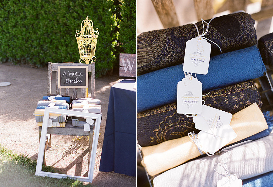Chales - lembrancinhas de casamento que seus convidados irão usar