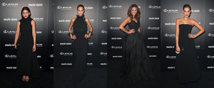 The Black Carpet Style at the Marie Claire Awards Was Seriously Sexy