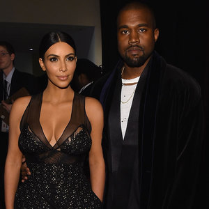 Kim Kardashian Kanye West and Celebrities at Time 100 Gala