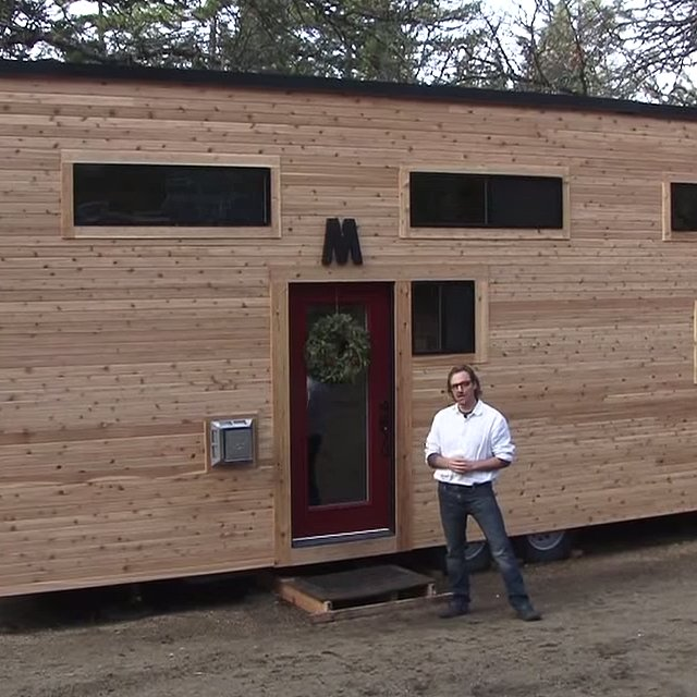 Tiny Home Designs: Video Tour Of Couple's Tiny Home On Wheels