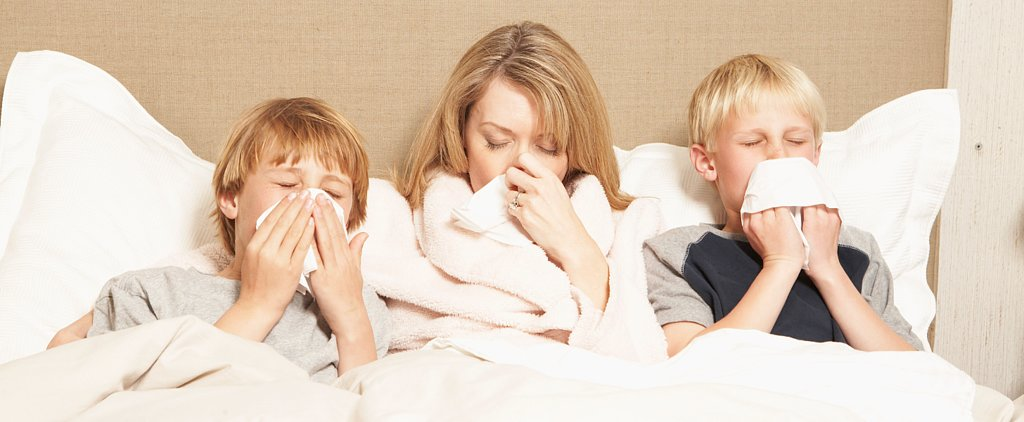 The Hardest Part of Motherhood? Parenting When Sick