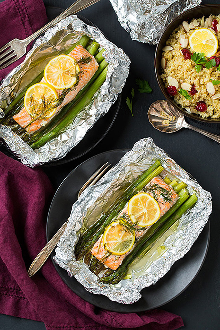 Salmon and Asparagus | 29 Fantastically Fast and Easy Salmon Recipes ...