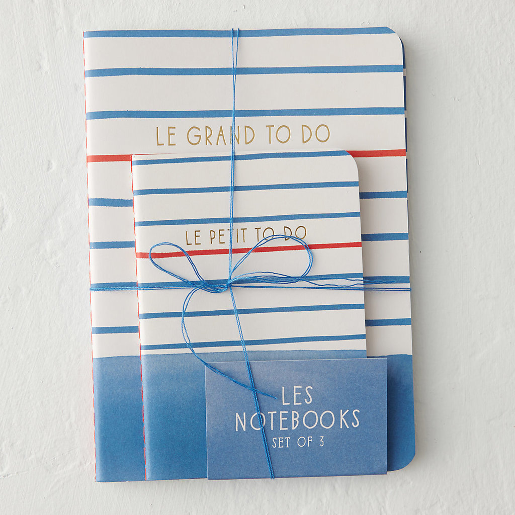 These little notebooks will help Mom stay organized — and she'll think of you every time she's jotting down her to-dos.  Les Notebooks Trio ($13)